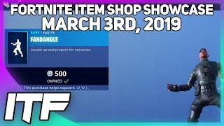 Fortnite Item Shop *NEW* FANDANGLE EMOTE! [March 3rd, 2019] (Fortnite Battle Royale)