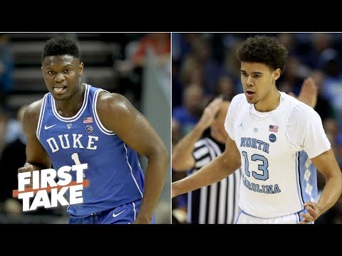 North Carolina is Duke's biggest threat in the 2019 NCAA Tournament - Stephen A.   First Take