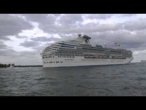 Cruise Ships on Parade – Port Everglades, Florida – March 17, 2013