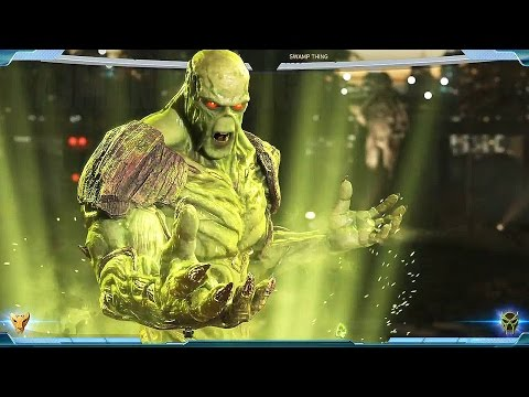 Injustice 2 - Swamp Thing Gameplay Walkthrough @ (60ᶠᵖˢ) HD ✔