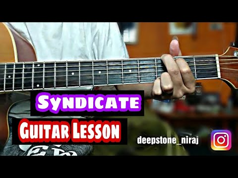 Bipul Chettri - Syndicate Easy Guitar Lesson