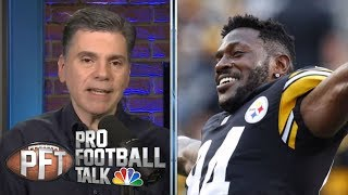 What's next for Antonio Brown after Bills trade fallout? | Pro Football Talk | NBC Sports