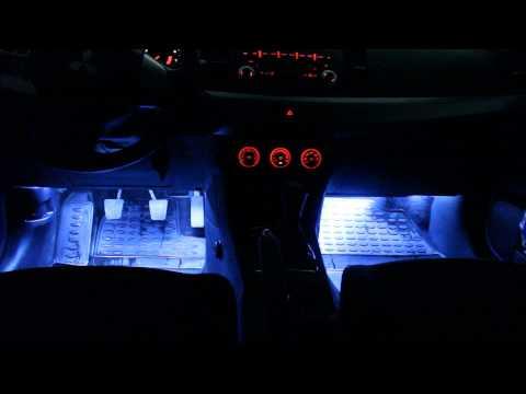 Подсветка ног лансер 10 своими руками 87