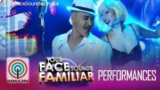 Your Face Sounds Familiar: Tutti Caringal As Lou Bega -
