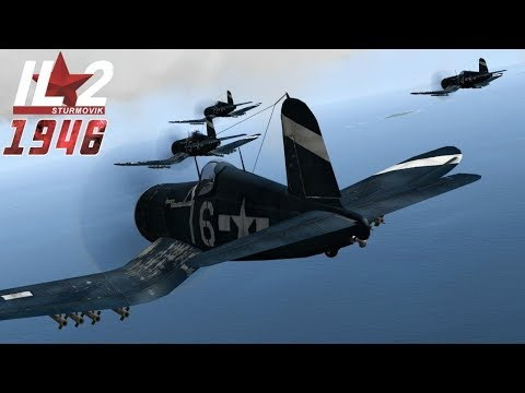Full IL-2 1946 Mission: The Corsair Boys (Multiplayer Mission)