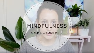 Hello Beautiful People!Welcome to yet another video, on my Channel! Today's video is all about Mindfulness. I will teach you how to get on top of every day struggles of Anxiety and Depression, and how to Calm your Mind from all the annoying voices that won't leave you be.I also have included some tips and an exercise on how to focus on the present time and how to calm your mind so you don't feel so defeated! I really hope you enjoy this video, and if you did, please give it a thumbs up and feel free to share this to anyone who you may know who might need the help!If you would like to follow my journey n this spiritual path i call life, then please subscribe to my channel!I hope you have an amazing day, and kick life's ass!Love Makaila xoxSnapchat: @makaila.panizzaInstagram: @makailapanizza
