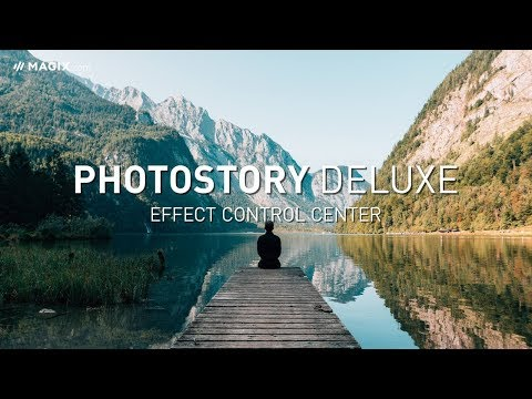 MAGIX Photostory Deluxe: The World's First Effects Accelerator