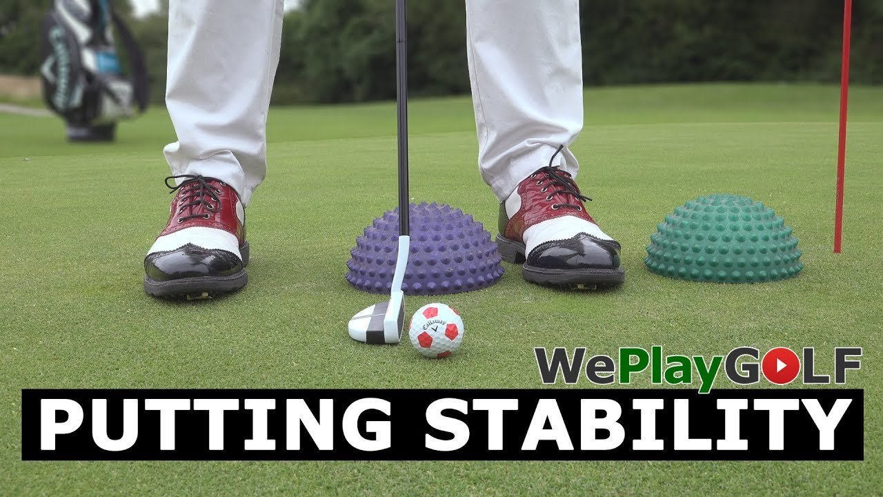 The best putting balance practice ever!