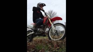 10. Playing on the 2014 crf150r