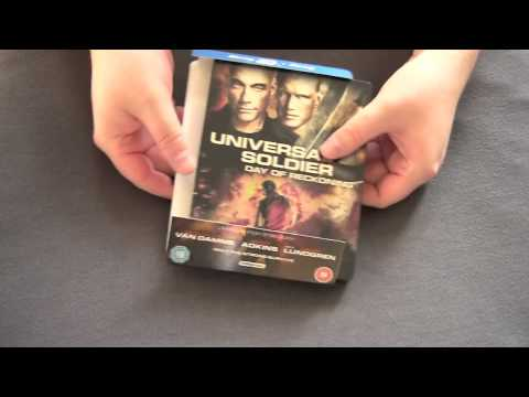 UNIVERSAL SOLDIER: DAY OF RECKONING UK blu-ray steelbook unboxing