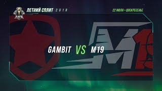 GMB vs M19 — Неделя 1 День 2 / LCL