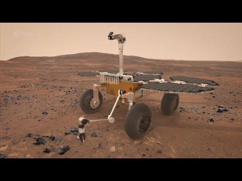Mars Sample Return Conceptual Animation