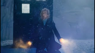 The pre-titles sequence from Series 10 Episode 11: World Enough And Time featured a clip from this years Doctor Who Christmas...