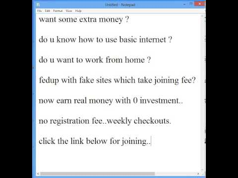 part time data entry jobs- Earn real money with no registration, no strings , absolutely free