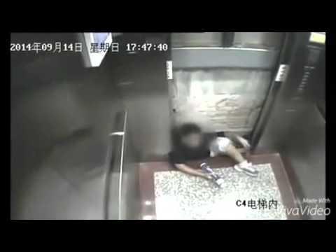 電梯意外! 超級恐怖!