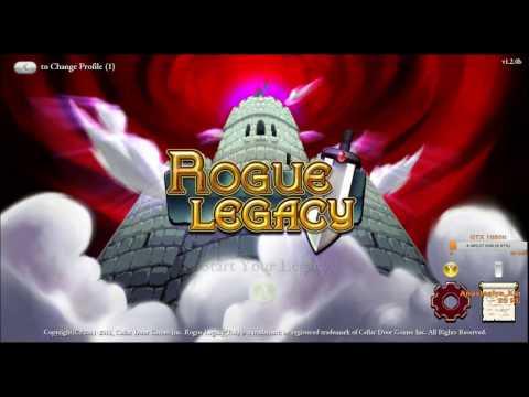 Dozkoz и Rogue Legacy. 1 стрим