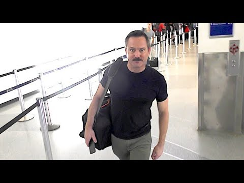 Reno 911 Star Thomas Lennon Sporting The Mustache Once Again