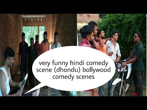 Very Funny Hindi Comedy Scene (dhondu) Bollywood Comedy Scenes