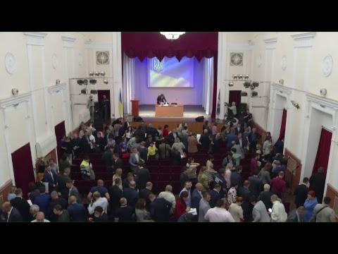 Видеоотчет XVIII сессии Мариупольского городского совета VII созыва
