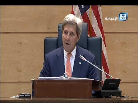 #فيديو :: #الجبير : المملكة ترفض استيلاء ميليشيات متطرفة على اليمن .. وكيري: ملتزمون بأمن #المملكة