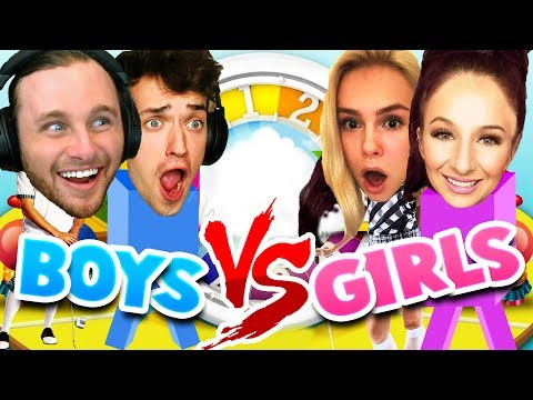GIRLS VS BOYS: THE GAME OF LIFE!! (rematch) (видео)