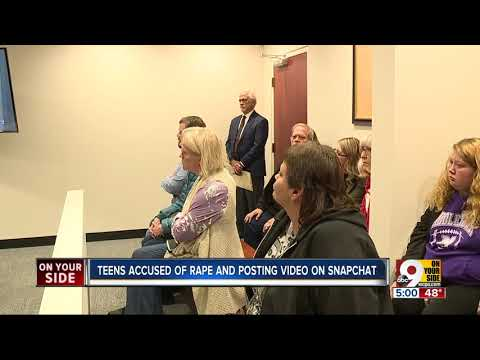 Teens accused of raping girl, posting video to Snapchat