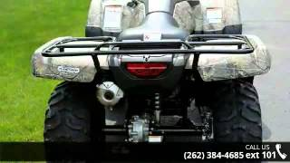 5. 2015 Honda FourTrax Rancher 4x4 Power Steering Phantom Ca...