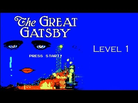Play 'The Great Gatsby' 8-Bit Video Game