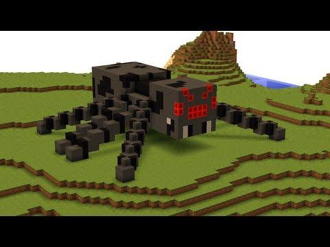 Spider Statue Minecraft 3rd December - ...