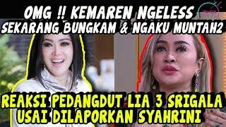 Video Begini Reaksi Pedangdut Lia 3 Serigala saat Dilaporkan Syahrini Terkait Ucapannya Soal Pak H4JI MP3, 3GP, MP4, WEBM, AVI, FLV Maret 2019