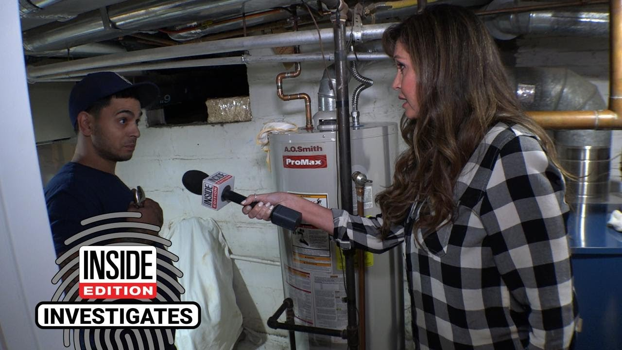 Will These Plumbers Properly Fix a Water Heater Leak? - YouTube