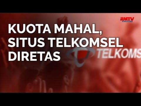 Kuota Mahal, Situs Telkomsel Diretas