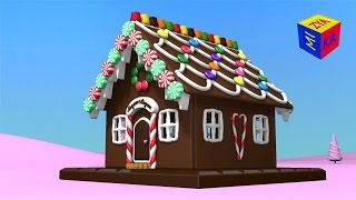 Christmas cartoons for toddlers kids children. Construction game: gingerbread house. full download video download mp3 download music download