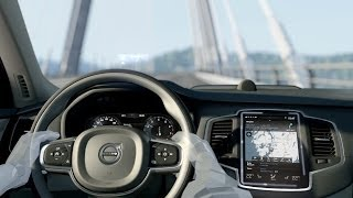 2015 Volvo XC90 - User Experience animation