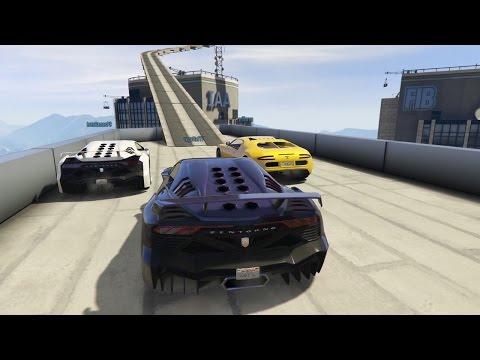 gta v online: carreras entre amigos-enemigos