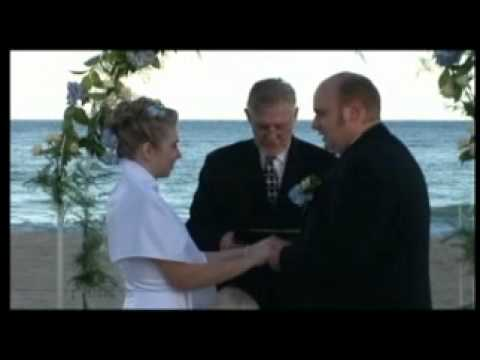 Ft Lauderdale Beach Wedding by Charles Gilbride, Wedding Officiant