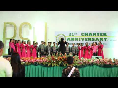 Invocation by the BSU Glee Club (31st Charter Anniversary)