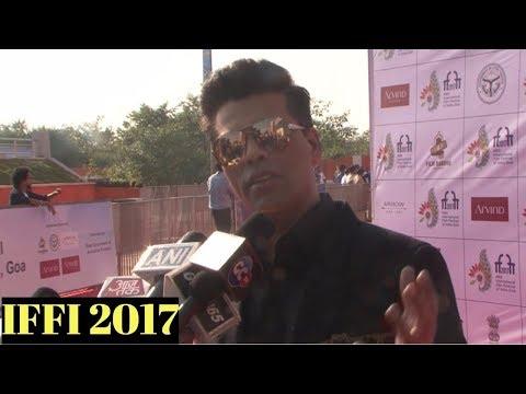 Karan Johar Attends Red Carpet At IFFI 2017 Closing Ceremony