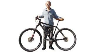 Как подобрать выбрать размер рамы велосипеда, узнать ростовку рамы.