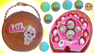 Video LOL Surprise Giant Ball - Big & Lil Sisters Baby Dolls Surprise Blind Bags + Bath Fizz Charms Toys MP3, 3GP, MP4, WEBM, AVI, FLV Maret 2019