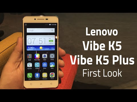 Lenovo Vibe K5 and Vibe K5 Plus First Look