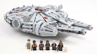 TIMELAPSE HALCÓN MILENARIO Y LA NAVE DE KYLO REN (LEGO) - Bycraftxx