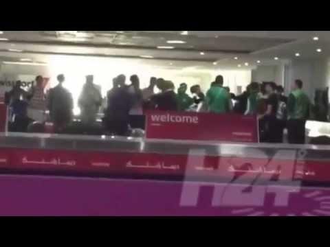 العسكري محيح بمطار محمد الخامس