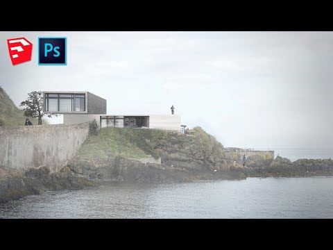 Modelagem e Render no Adobe Photoshop CS6