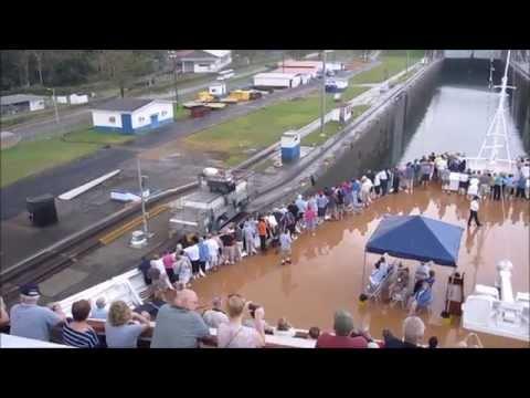 HAL Zuiderdam at Panama Canal