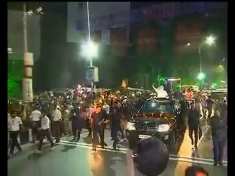 PM Shri Narendra Modi's road show in Surat, Gujarat : 16.04.2017