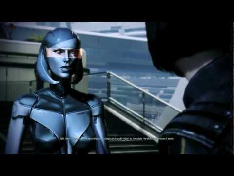 Mass Effect 3: Joker & EDI romance (видео)
