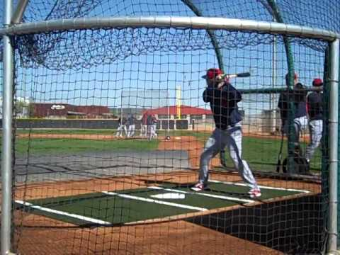 VIDEO: Indians take batting practice in first full squad workout