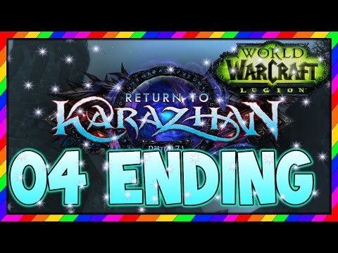[BLIND] FIRST TIME RETURN TO KARAZHAN - Episode 4   World of Warcraft   Jaxi