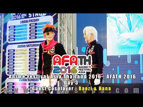 AFATH 2016 | Day 3: Baozi & Hana on Akiba Stage